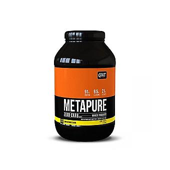 QNT Metapure Zero Carb Fat Free Whey Protein Isolate Powder (Lemon Meringue) 908g