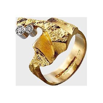 Kalevala Ring Damen Diamond twig 14K Gold Diamant 145147203190 Ringweite 60