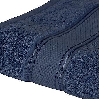 Asciugamano Doccia Colore Blu in Cotone, L90xP140 cm
