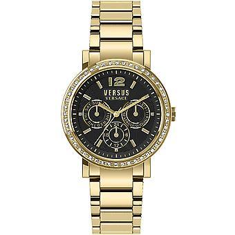 Versus by Versace Women's Watch Wristwatch Manhasset VSPOR2819 Stainless Steel