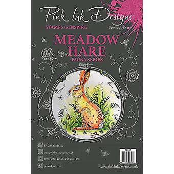 Pink Ink Designs Clear Stamp Meadow Hare A5
