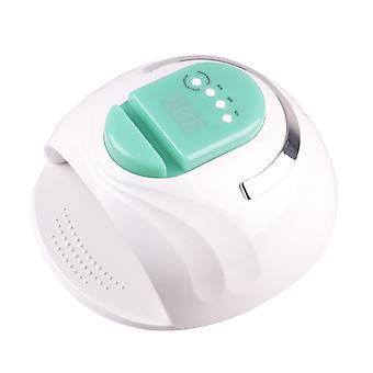Enchufe portátil verde de la UE Smart 4-gear timing 42 led UV lámpara de uñas de uñas con soporte de teléfono