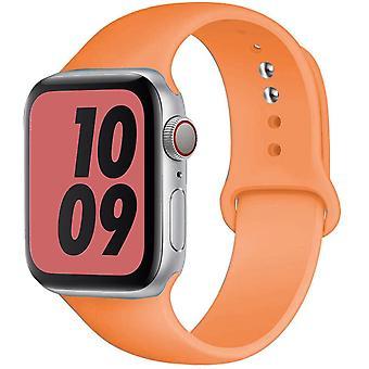 Curea de silicon pentru Apple Watch Band 44mm 40mm Iwatch Band 38mm 42mm Sport Belt