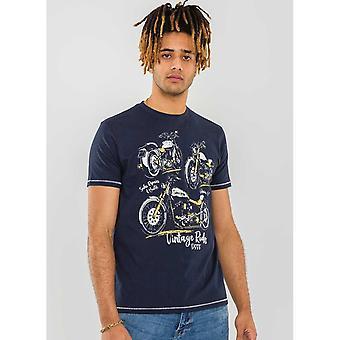 Duke Mens Ellis D555 Motor Trio T-Shirt