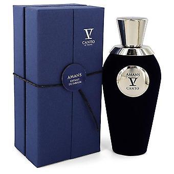 Amans V Extrait De Parfum Spray By Canto 3.38 oz Extrait De Parfum Spray