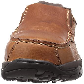 Rockport Mens RK6748 cuero compuesto dedo del pie slip en los zapatos de seguridad