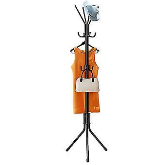 Coat rack, moisture-proof rack, floor-mounted triangular coat rack, bedroom living room storage rack