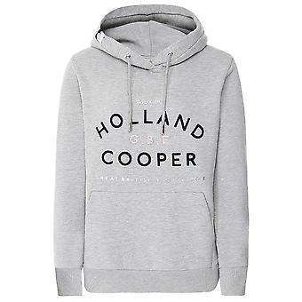 Holland Cooper GBE Flock Logo Hoodie