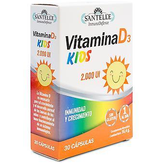 Santelle Vitamina D3 Kids 545 mg 30 cápsulas vegetales