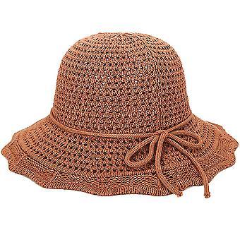 Módní prodyšné slunečníkové sandály pro dámské plážové klobouky
