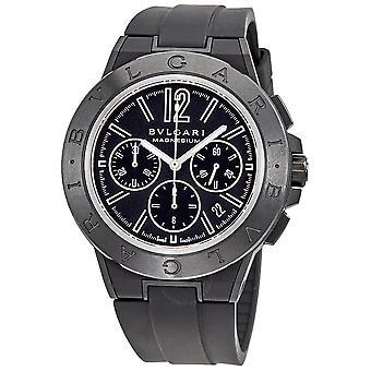 Bvlgari Diagono Magnesium Automatic Chronograph Men's Watch 102428