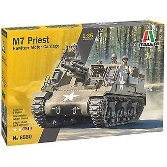 Italeri 6580S 1:35 US M-7 Priest Howitzer Motor Carriage Plastic Model Kit