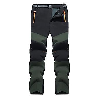 Winter Warm- Fleece Hiking Pants, Thermal Trousers, Outdoor Mountain Climbing