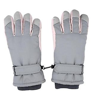 Ski Gloves Women Warm And Cute Outdoor Riding Motorcycle Windproof And Cold