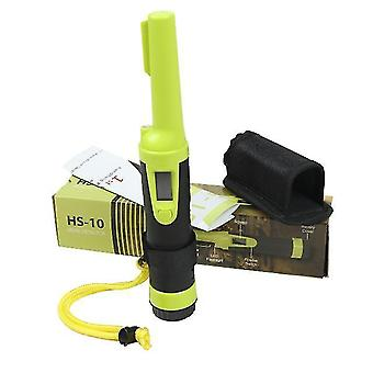 3 Meters waterproof handheld metal detector hs-10 lcd display high sensitivity hand held gold pinpointer all metal gold finder