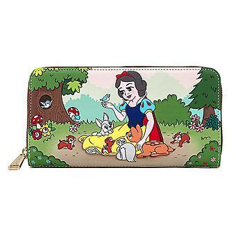 Snow White and the Seven Dwarfs Multiscene Zip Wallet