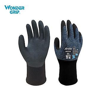 Wonder Grip Abrasion-proof Gardening Gloves 15-Gauge Nylon Liner & Nitrile Coating  Universal Work Gloves