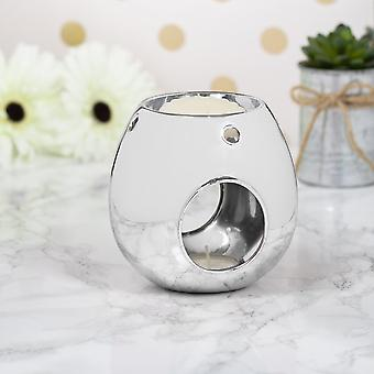 Wax/oil Warmer Silver by Lesser & Pavey