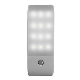Liiketunnistimen valo juomakelpoinen 12 LED-komerovaloa