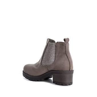 Xti - Zapatos - Botines - 33951-TAUPE - Señoras - sienna, plata - EU 37