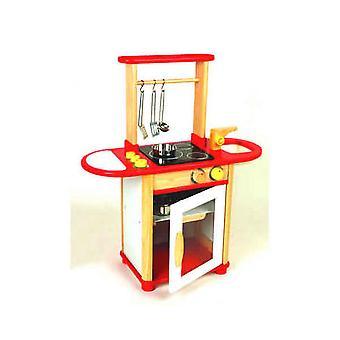 PINTOY - houten keuken Combo - Red 6553