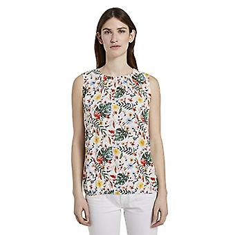 Tom Skräddare Rundhals T-Shirt, 24053/White Water Co L eller Flo, 44 Donna