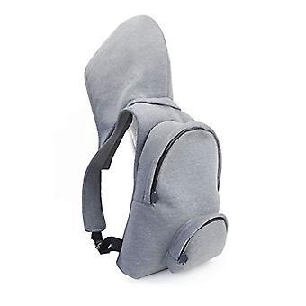 MorikukkoMorikukko Hooded Backpack Grey GreyUnisex - AdultZainiGrigio (Grey Grey)33x8x40 Centimeters (W x H x L)