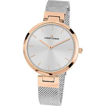 جاك ليمانز ساعة اليد المرأة ميلانو كلاسيك 1-2110K