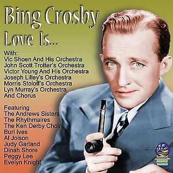 Bing Crosby - Love Is...Funny Sad Quiet Mad Good Bad [CD] USA import