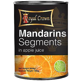 Royal Crown Mandarins Segments in Apple Juice