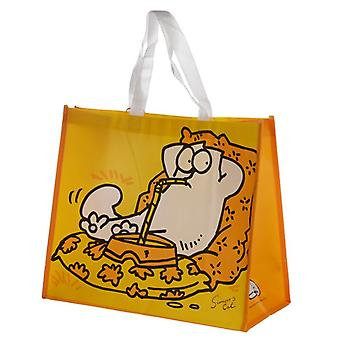 Simon & Cat Yellow Torba na zakupy