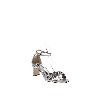 Badgley Mischka | Alison Crystal Embellished Ankle Strap Sandal
