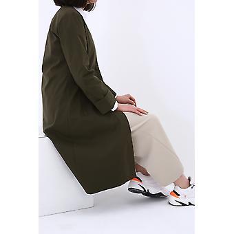 Double Sleeve Buttoned Hijab Jacket