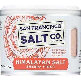 San Francisco Salt Co Salt Himalaya, tilfelle av 6 X 5 Oz