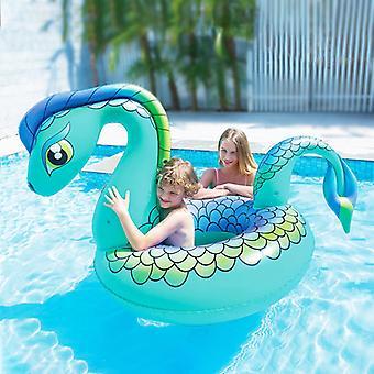 Uppblåsbar poolfigur Dragon Turquoise (161 X 109 x 95,5 cm)