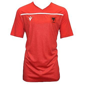 2021-2022 Albania Training Shirt (Red)