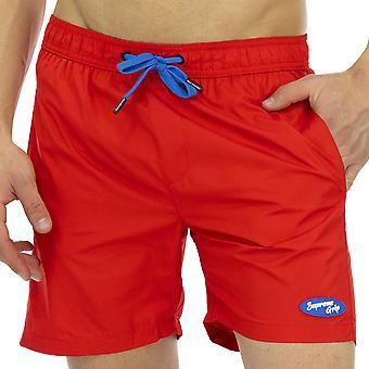 Agarre Supremo Hombres Boxer Swimshorts Hornet Multicolor