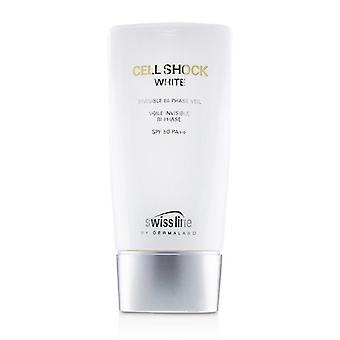 Facial Sun Cream Cell Shock Invisible Safe Sea SPF 50 (65 ml)