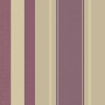 Arthouse Palazzo Stripe Mulberry Wallpaper 290500