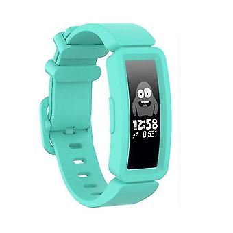 Szilikon csere watch band a Fitbit Inspire HR / Ace 2 Mint Green