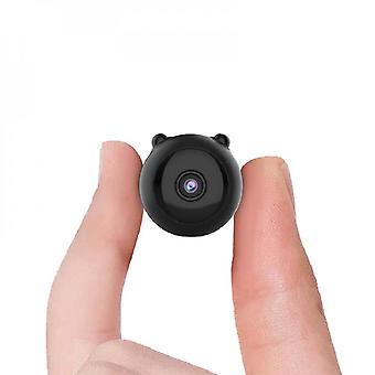 ميني واي فاي كاميرا الأمن جاسوس كام رؤية ليلية 1080p كاميرا داخلية
