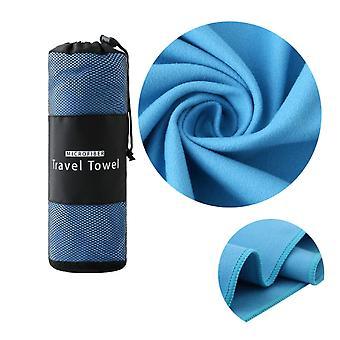 40X80CM Toalha rápida e seca toalha de praia portátil toalha de praia absorvente toalhas absorventes de suor ao ar livre