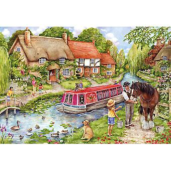 Gibsons Jigsaw Puzzle Drifting Downstream 500 pieces