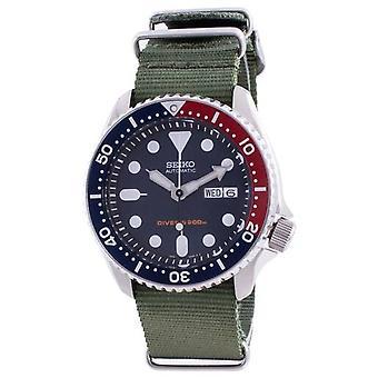 Skx009k1-var-nato9 שעון גברים של צוללן אוטומטי של סייקו
