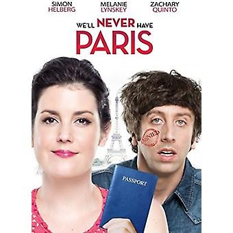 Well Never Have Paris [DVD] USA import