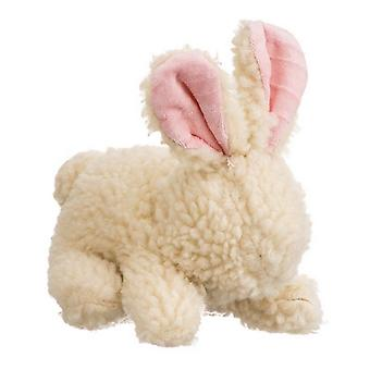 "Spot Vermont Style Fleecy Rabbit Shaped Dog Toy - 9"" Long"