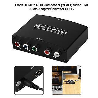 Hdmi naar Rgb Component (ypbpr) Video +r/l Audio Adapter Tv Hd Video Converter