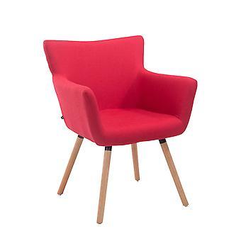 Esszimmerstuhl - Esszimmerstühle - Küchenstuhl - Esszimmerstuhl - Modern - Rot - Holz - 64 cm x 56 cm x 86 cm
