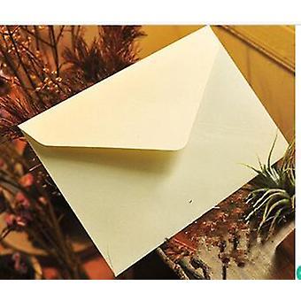Kraft pappers vintage kuvert för affärsbröllop