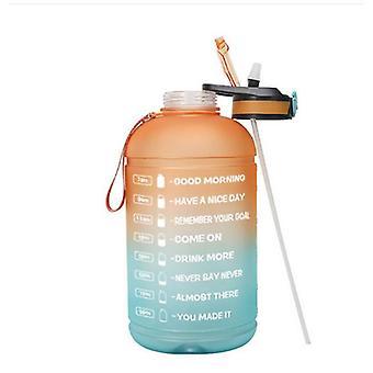Gradiente de dos colores 3.78l Sports Water Bottle Fitness Water Bottle